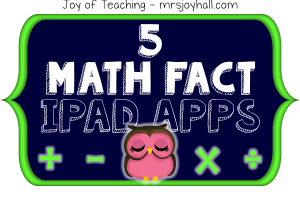 Just the Math Facts iPad Apps Button