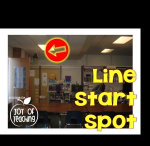 Line Start Spot Horizontal