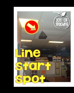 Line Start Spot Vertical