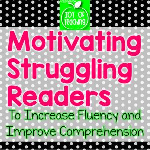 Motivating Struggling Readers Blog