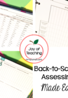 Back-to-School Assessing Made Easy